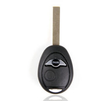 Brand New Replacement Shell Remote Key Keyless Case Fob 1 Button For B-MW Mini Cooper Uncut Blade
