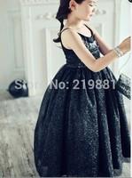 HOT ! Girls summer sweet sequins tutu dress , princess dress girl , 5pcs/lot    LWH17