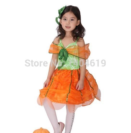 Girl Pumpkin Costume Pumpkin Fancy Dress Girls