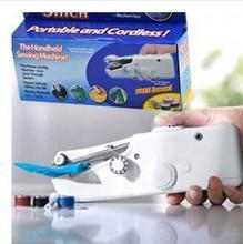 2014 reais limitados Overlock máquinas de costura grátis frete máquina portátil : ponto calhar Super fácil de usar portátil e sem fio(China (Mainland))