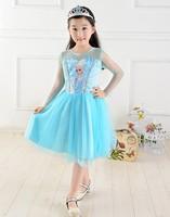 Top On Top Retail new 2014 Custom-made Movie Cosplay dress summer girls dress  Princess Elsa Dress wedding dress