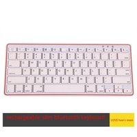 New Computer Gaimg Bluetooth 3.0 Mini wireless keyboard For PC Macbook Android Mobile Iphone iPad B82206