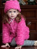 2014NEW 1-6 Years Baby Fashion Coat Autumn&Winter Baby Girls Jacket Outerwear/baby winter jacket Children's Clothing Child coat