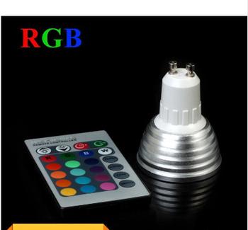 9 Вт gu10 RGB из светодиодов лампы свет 16 цвет RGB изменение лампы прожектор с пульта дистанционного управления для дома ну вечеринку улучшение атмосферы