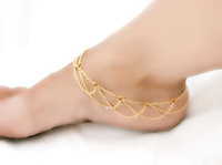 Women Lady Loved Ankle Chain Anklet Bracelet Chain Body Jewelry Silver Gold Foot Chain