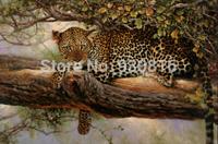 New 2014 Needlework DIY Diamond Painting Cross Stitch Sewing Knitting Needles Diamond Embroidery leopard