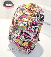 New Arrivals! Hot Wholesale high quality 2014 new fashion cartoon backpack, shoulder bag lovely lady