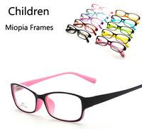 Wholesale Fashion Multi Colors Children Myopia Glasses Frames New Kids Plain Mirror Eyeglasses
