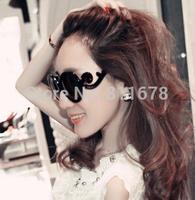 Lady gaga 5061 birds xiangyun sunglasses Round clouds the sun glasses