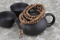 8mm*108pcs kalimantan Indonesia natural wild aloes beads bracelet hand string agarwood beads aloeswood beads for men and women