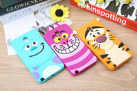 10pcs 3D Cartoon Animal Monsters Sulley Tigger Marie Alice Cat Silicone Case For Samsung Galaxy Note3 Lite Neo N7505 Note 3 Mini