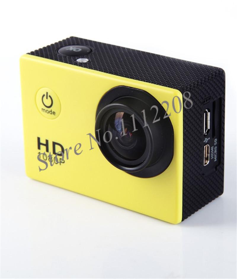 "Portable mini 1.5"" LCD Waterproof Action camera Full HD 1080P diving deep 30M sport DV camcorder(China (Mainland))"