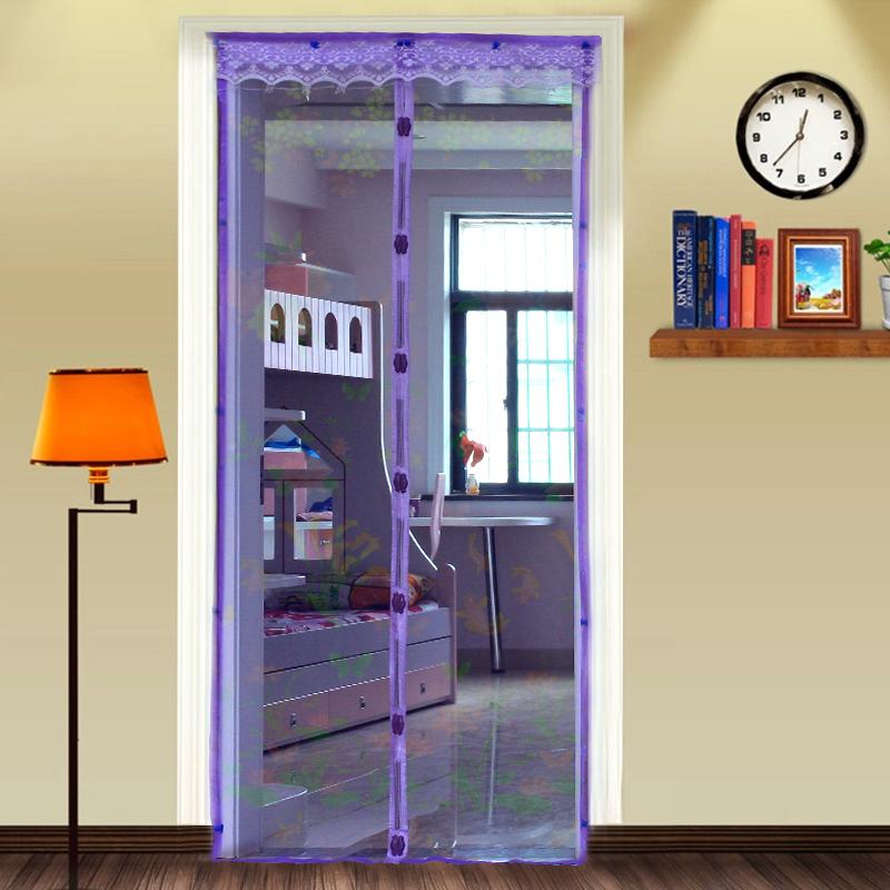 210 * 90 centímetros Qualidade janela simples magnética porta cortina tela macia tarja magnética verão tela mosquiteiro criptografia(China (Mainland))