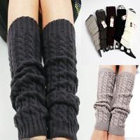 2014 Autumn Winter Women knitting Crochet Fashion Leg Warmers Legging Foot Hosiery Stock