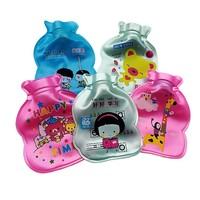 10pcs /lot Cartoon pearl  mini hot water bottle water flushing hot water bag for hand warm hand bag