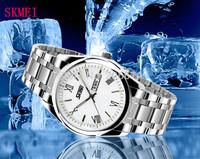 Hot Luxury Business Casual Men Stainless steel 30m Waterproof quartz Watch Men Military wristwatches watches men luxury brand