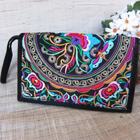 New Arrival 5*8 inch Wallet purse / ethnic embroidery wallet / cash cow wallet clutch handbags embroidered purse wallet