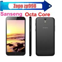 "Free Shipping 5.5"" ZOPO ZP998 C2 MTK6592 1.7GHz Octa core Phone 2GB/16GB 1920*1080 14.1MP/5.0MP OTG NFC 3G Unlocked Smartphone"