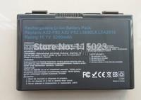 4400mAh 6 Cell Battery Pack for Asus K40 / F82 / A32 / F52 / K50 / K60 L0690L6 free shipping