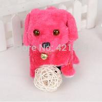 Electric Dog Plush Dog  Backward Dog Eyes Sparkled  Sounds Toy Dog  Animal Toy Baby toy Free Shipping