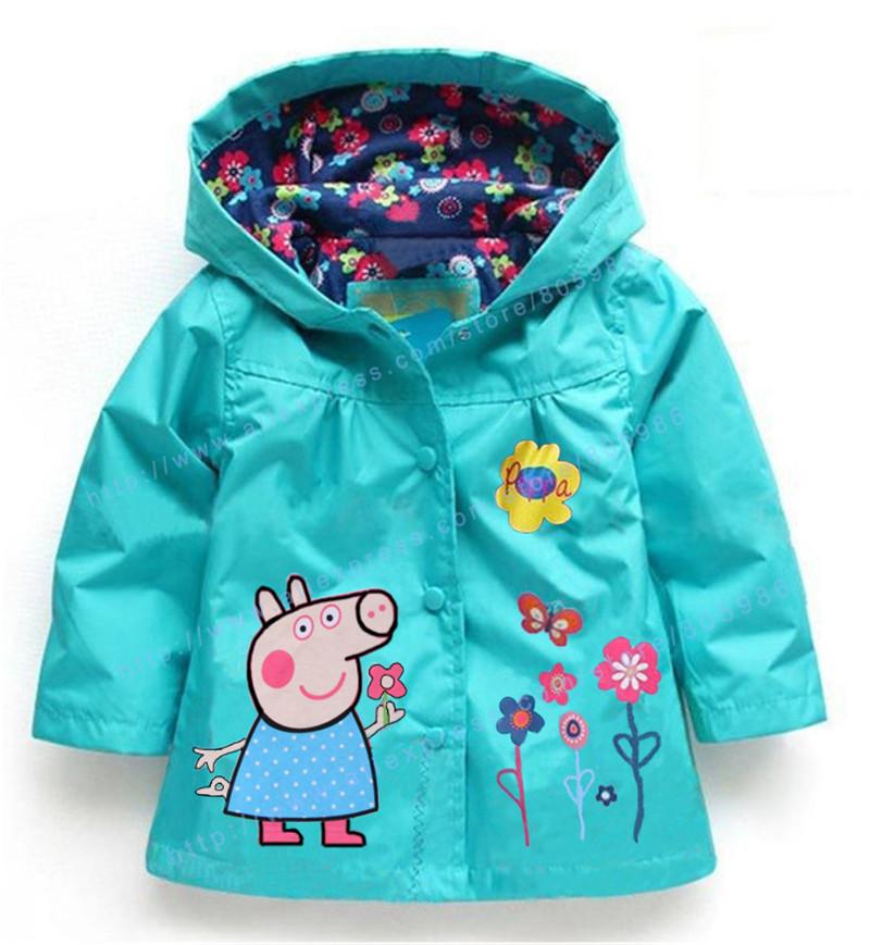 Girls winter coat Fashion Children's coats girls Hello Kitty winter warm coat children cotton jacket thick cotton-padded clothes(China (Mainland))