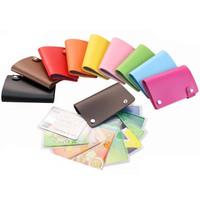 New Arrival, High Quality 10 slot Rotation Men Business Card Holder wallet bank credit card case ID card bag,Women Slim card