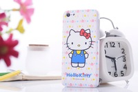 1pcs/lot Free shipping Hello Kitty phone Case Cartoon Hard Plastic Back Cover Case For Apple iPhone 5s 5 5c mobile phone case