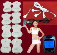 Electric Tens Acupuncture Full Body Health Care Massager Digital Therapy Machine 8 Pads For Back Neck Foot Amy Leg slim Massage