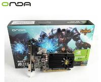 Brand ONDA 1G DDR3 nvidia GeForce GT610 video card nvidia graphics card VGA card DVI+HDMI+VGA drop/free shipping