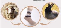 2014 Fashion winter  Men winter socks rabbit wool  socks warm soft sock thickening  men's High quality  12pieces=6pairs