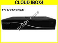 Satellite receiver  twin tuner dvb s2  decoder cloud ibox4 support openpli , blackhole image  cloud ibox4