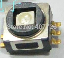 Free shipping 10pcs/lot size 8X8X6 white push button Led Tact Switch illuminated switch SMD Y71643142FP(China (Mainland))