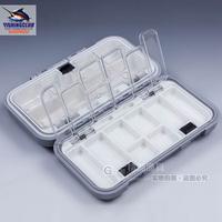 Multifunctional Portable Fishing Tackle Box Waterproof Rock Fishing Tool Box Lures hook Case tackle BB02 wholesale