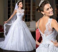 white Wedding Dress Bridal Gown Custom Size 2-4-6-8-10-12-14-16-18-20-22+++++