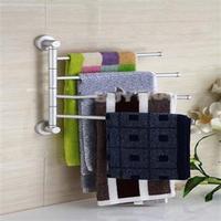 2014 New Bathing Accessories High Quality Towel Racks Saving space Silver Towel Holders Rack