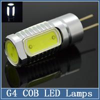 1x G4 COB LED Lamps DC 12V 3W 5W 7W 9W Crystal Corn Tube RV Reading Boat Bulbs Chandelier Spot Light Aluminum landscaping
