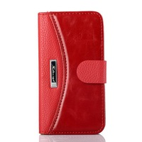 Vintage Luxury PU Leather Case for iPhone 5S 5 Fashion Stylish Wallet Book Phone Cover for iPhone 5 5S for Apple Accessories