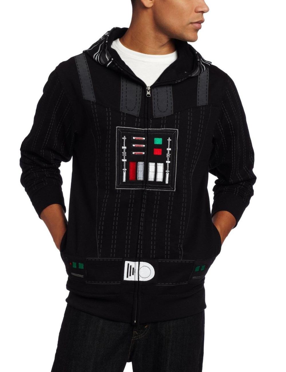STAR WARS Han Solo Darth VADER Yoda movie Jacket MEN/'S New HOODIE Sweat SHIRT