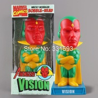 Free Shipping FUNKO  Green Lantern Vision Wacky Wobbler Bobble Head PVC Action Figures Toys Funny toys FKFG033