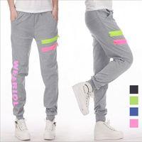 HA-11 spring autumn Harem pants women Casual Korean style Fashion Sweatpants sports pants Candy Jogger sport trousers women