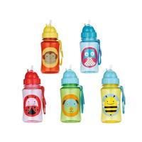 Chokecherry Children Cartoon Animal Straw Cup Kids Water Bottle Drinking Cup Leak Proof Sports My Bebe Bottles Free Shipping