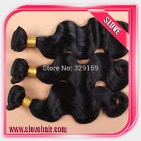 Brazilian body wave virgin hair extension 3pcs lot best quality brazilian virgin human hair body wave 100% human hair weave