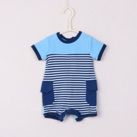 Baby romper newborn boy overall striped roupas de bebe 100% cotton jumpsuit baby clothing baby rompers