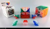 New MoYu Aolong  3x3 V2 Transparent Strengthened  x3x3 Magic Cube Transparent Magic cube 3x3x3Crystal stickerless speed cube