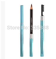 Fashion Design Perfect Waterproof Longlasting Eyeliner Eyebrow Eye Brow Pencil & Brush Makeup Dark Brown/Light Brown/Smoke Gray