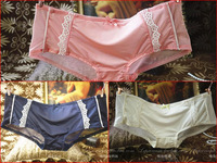 Fashion small panty low-waist boxer sexy gauze milk, silk comfortable lace patchwork