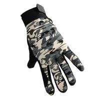 Outdoor elastic protomere slip-resistant thin gloves camping sunscreen gloves fishing gloves full finger gloves free shipping