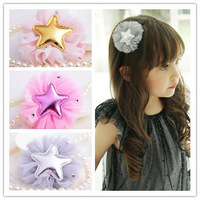Baby Girl Kids Hair Clip 18 pcs Princess Big Flowers Hairpins Hair Accessories New girls Barrette Drop Shipping