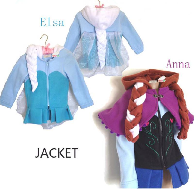 2014 new Frozen girls winter coat, girls long cotton-padded clothes, Children warm winter down coat! winter jackets for girls(China (Mainland))