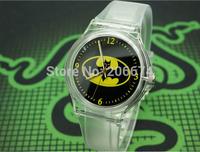 Willis Batman Design Fashion women dress Waterproof Analog Wrist quartz Watch Unisex watches women casual watch Children Watch